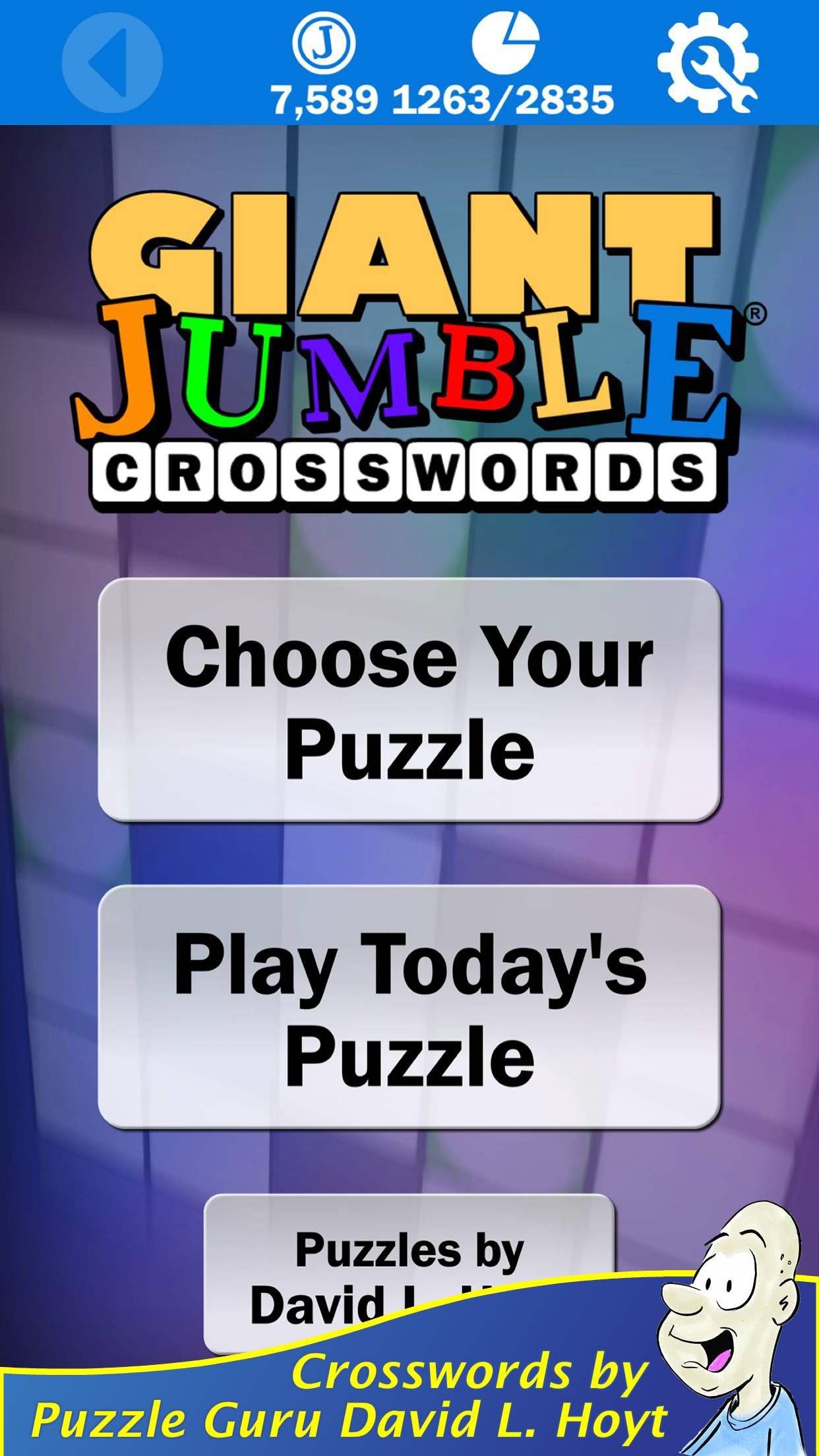 America's Favorite Puzzle Creator has a New Jumble Crosswords App Image